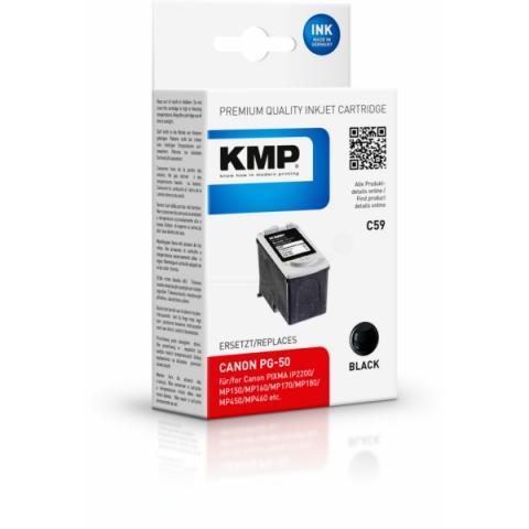 KMP Druckerpatrone für Canon Pixma IP1200 ,