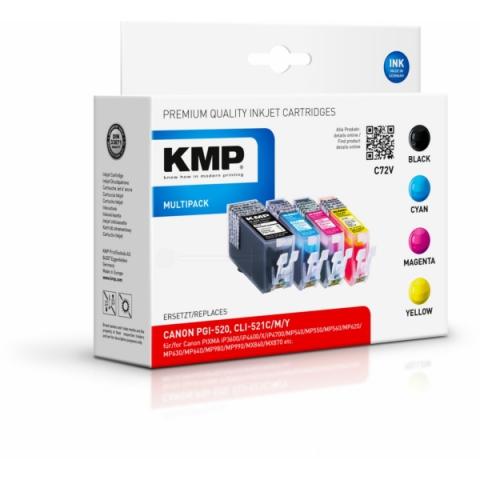 KMP Multipack Kompatible Tintenpatrone mit
