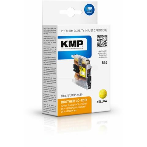KMP Druckerpatrone, ersetzt original LC-123Y für