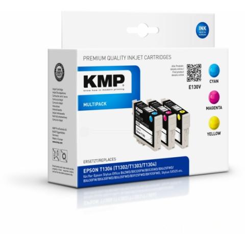 KMP Multipack Tintenpatronen von mit 3 x 10, 1