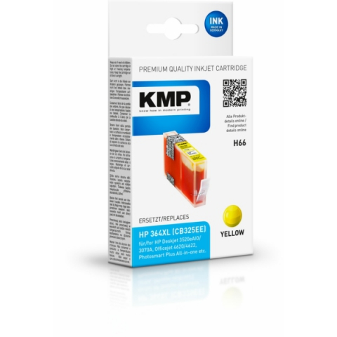 KMP Tintenpatrone ersetzt HP 364 XL CN325EE