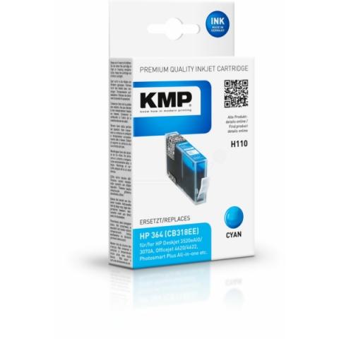 KMP Druckerpatrone ersetzt HP 364 (CB318EE) für