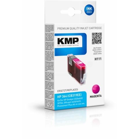 KMP Druckerpatrone ersetzt HP 364 (CB319EE) für