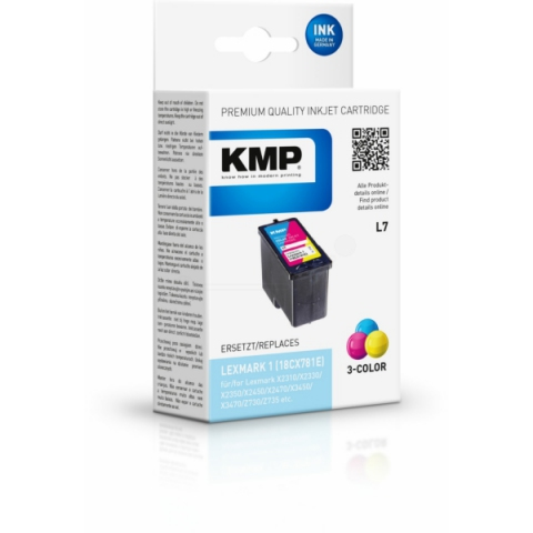KMP Druckerpatrone für Lexmark X2310 , X2330 ,
