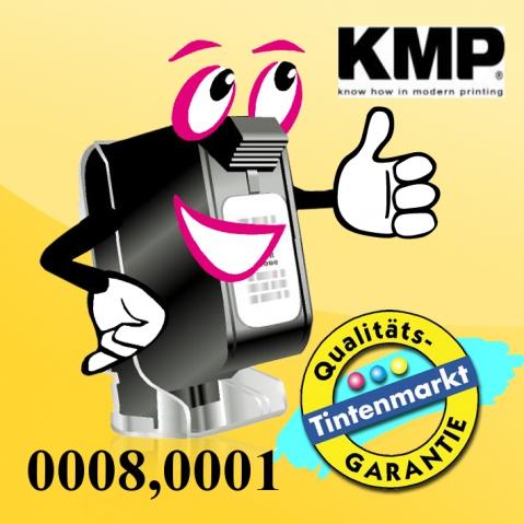 KMP - Toner Kartusche mit 2 x 180g, schwarz