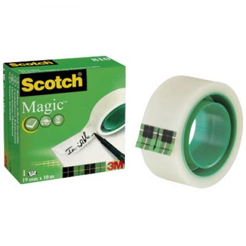 Scotch Klebeband Magic 19, 0 mm x 33, 0 m,