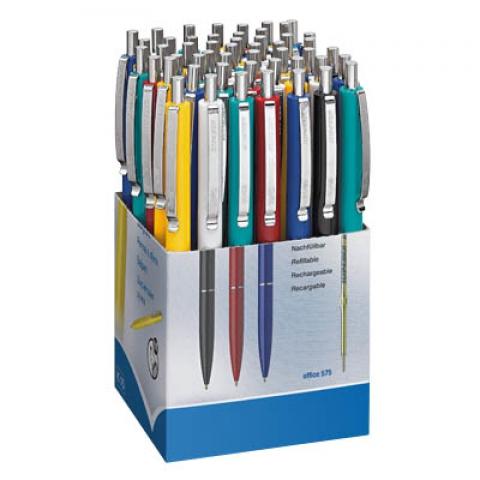 Schneider Kugelschreiber farbsortiert im