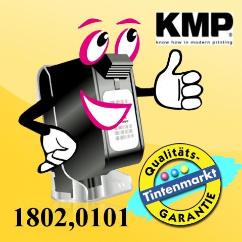 KMP Farbband für Brother M 2518, Breite , Länge