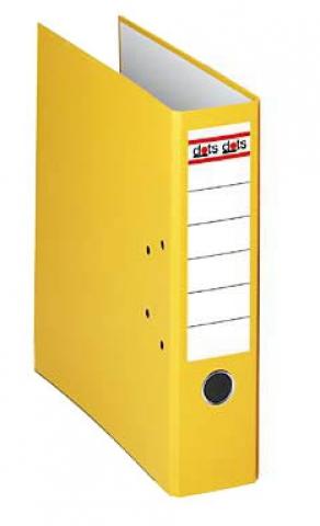 dots Dots Ordner 8, 0 cm breit mit gelben