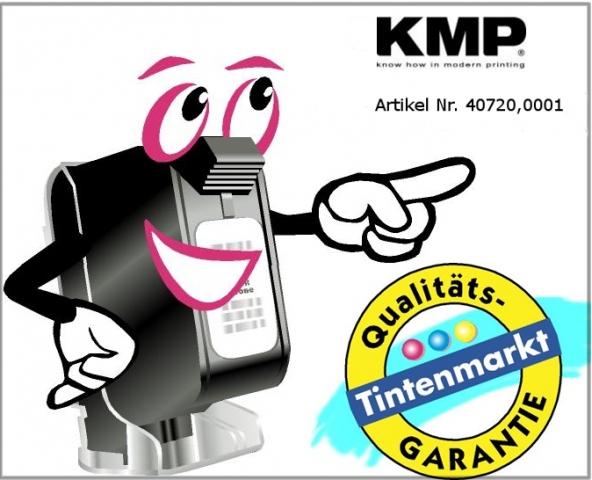 KMP Farbrolle für Seiko IR72, schwarz