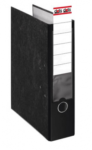 dots Dots Ordner 8, 0 cm breit mit schwarzen