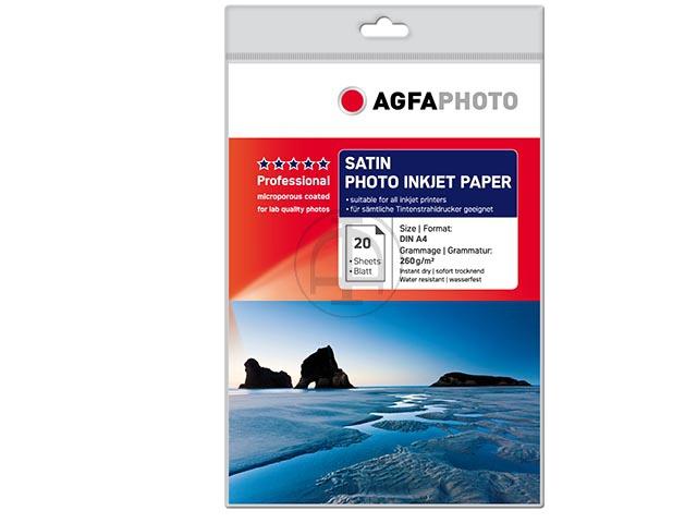 AGFAPHOTO Professional Fotopapier A4, 260 g ,