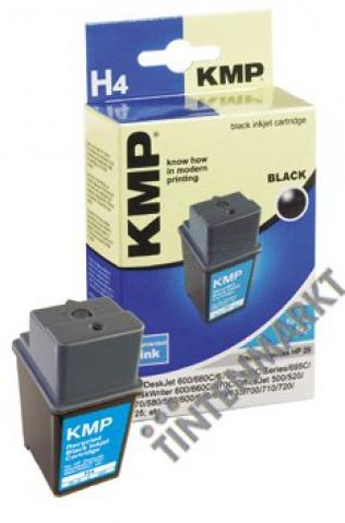 KMP Druckerpatrone mit 40 ml Inhalt für HP