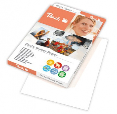 Peach A4 Fotopapier 240 g , m2, glossy, 50