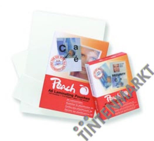 Peach Laminierfolie DIN A7 (80x111mm) Dicke: