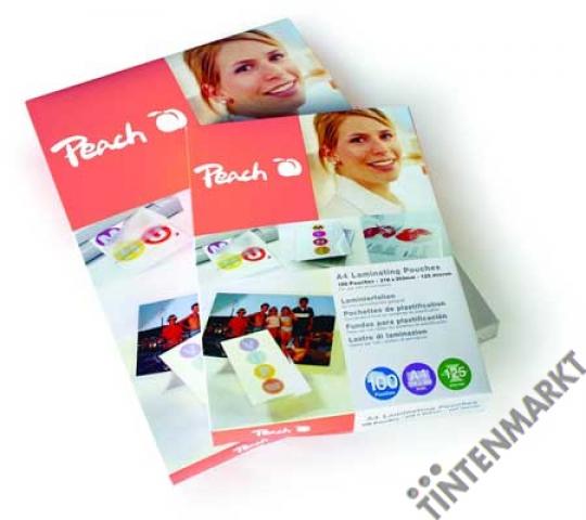 Peach Laminierfolie Credit Card (54x86mm) Dicke: