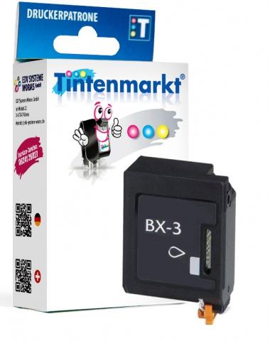 Tintenmarkt Druckerpatrone ersetzt Canon BX-3,