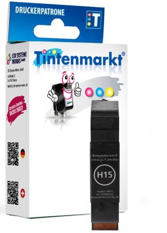 Tintenmarkt Druckerpatrone ersetzt HP15,