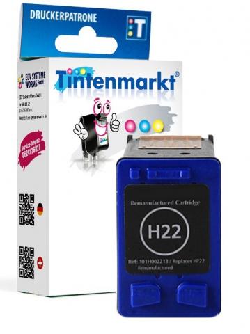 Tintenmarkt Druckerpatrone ersetzt HP22,