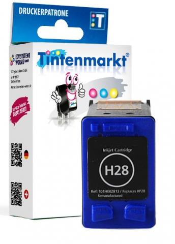 Tintenmarkt Druckerpatrone ersetzt HP28,