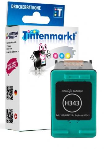 Tintenmarkt Druckerpatrone ersetzt HP343,