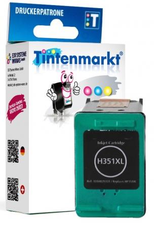 Tintenmarkt Druckerpatrone ersetzt HP351XL,