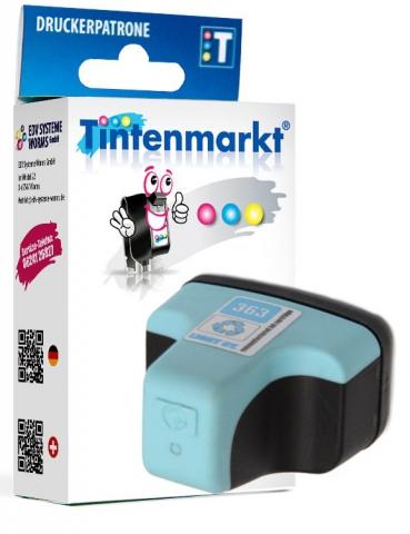Tintenmarkt Druckerpatrone ersetzt HP363LC,
