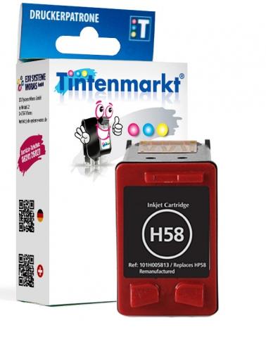 Tintenmarkt Druckerpatrone ersetzt HP58, BITTE