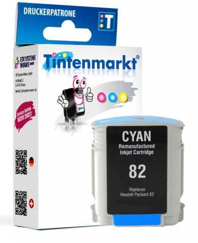 Tintenmarkt Druckerpatrone ersetzt HP82C,