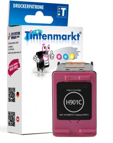 Tintenmarkt Druckerpatrone ersetzt HP901C,