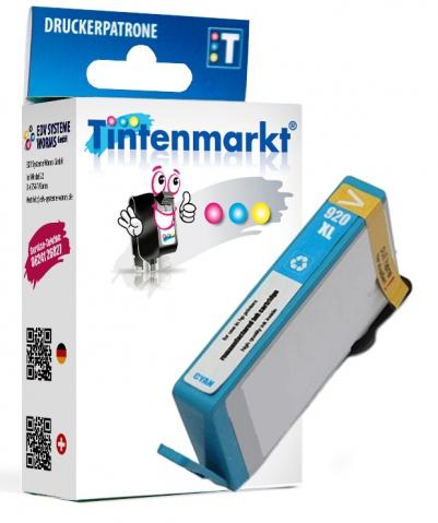 Tintenmarkt Druckerpatrone ersetzt HP920C,