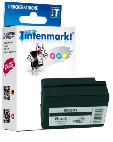 Tintenmarkt Druckerpatrone ersetzt HP932XLBK,