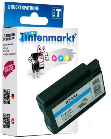 Tintenmarkt Druckerpatrone ersetzt HP933XLC,