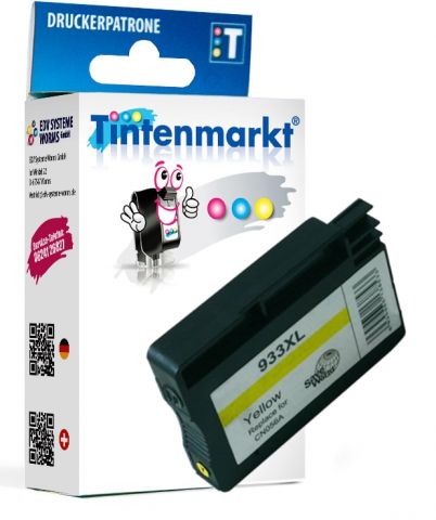 Tintenmarkt Druckerpatrone ersetzt HP933XLY,