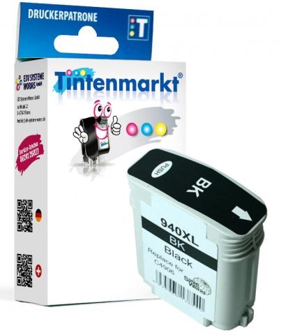 Tintenmarkt Druckerpatrone ersetzt HP940XLBK,