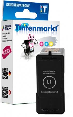 Tintenmarkt Druckerpatrone ersetzt Lexmark