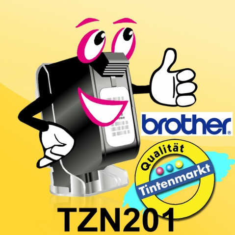 Brother TZN201 BROTHER P-TOUCH 3, 5mm