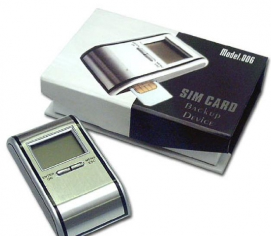 Whitelabel SIM-Card Recorder LCD zum Sichern