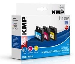 recycelte Druckerpatronen für HP Officejet von KMP