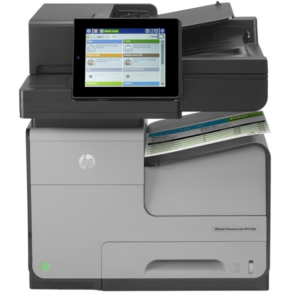 OfficeJet Enterprise Color Flow X 585 z MFP