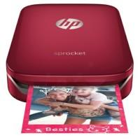 Sprocket Photo Printer red