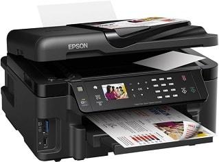 Epson Workforce Tintenstrahldrucker / Multifunktionsgerät